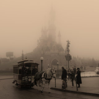 Disneyland Park, Paris, France - Somewhere back in time