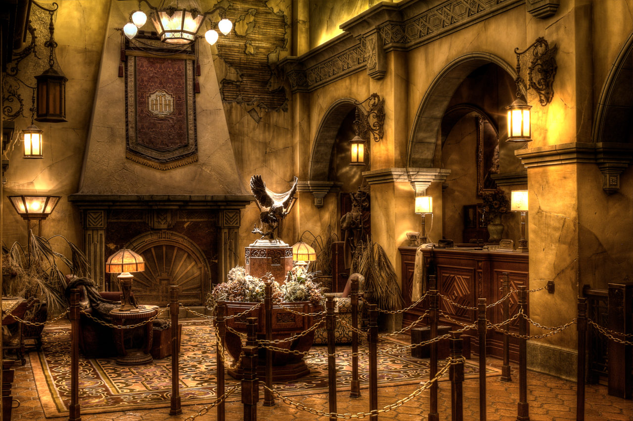 Walt Disney Studios, Paris - Ancient hall (Tower of Terror)