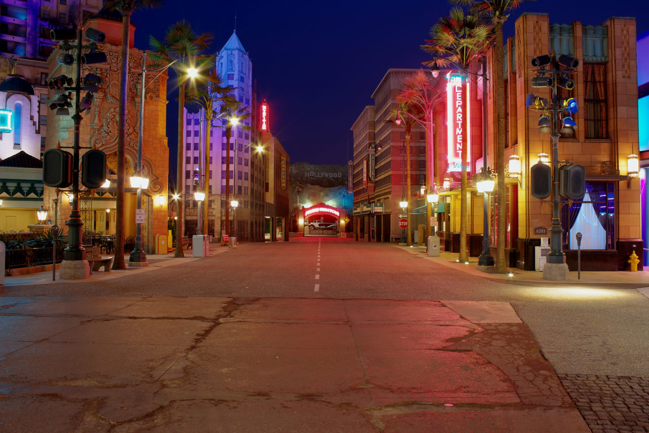 Walt Disney Studios, Paris - Hollywood boulevard