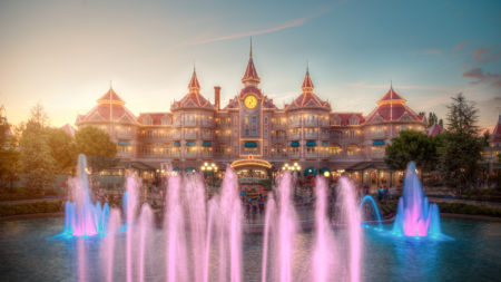 Disneyland Park, Paris, France - Color of water